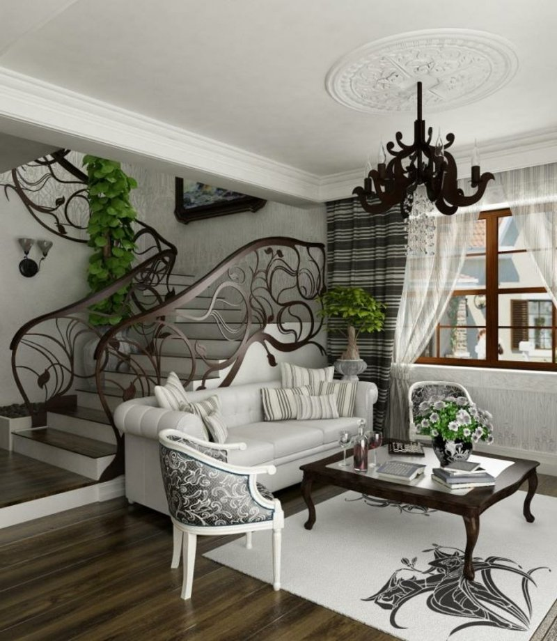 barock m bel f r eine prunkvolle atmosph re. Black Bedroom Furniture Sets. Home Design Ideas