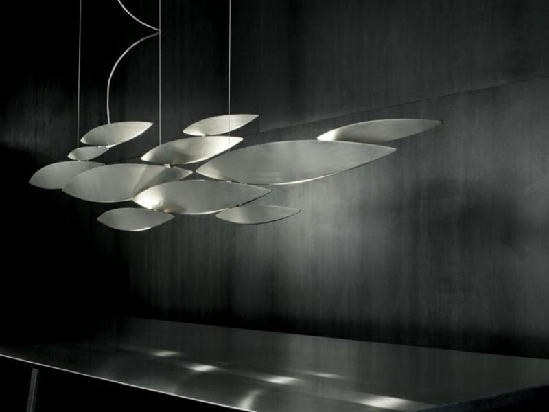 extrem modernistische esszimmerlampen