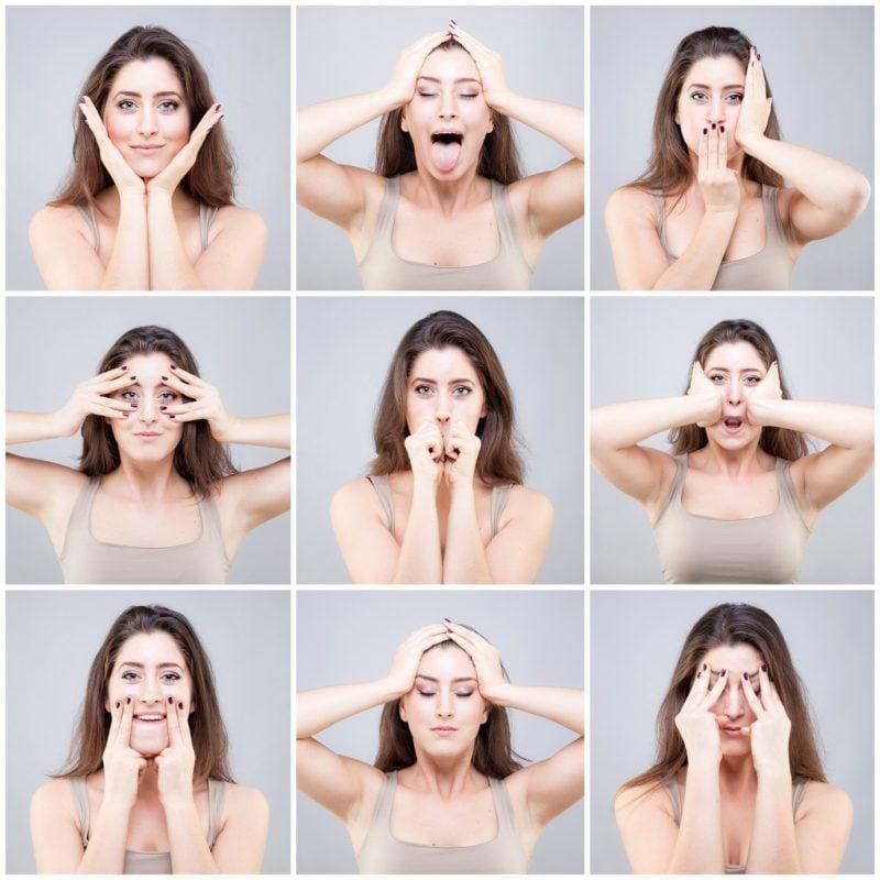 Im Gesicht abnehmen Yoga Ubungen