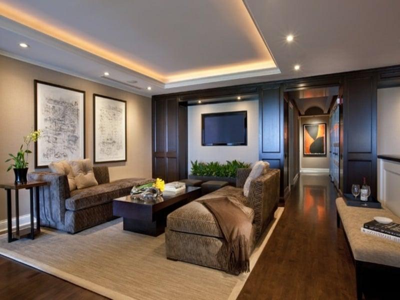 Indirekte beleuchtung - Deckenbeleuchtung wohnzimmer led ...
