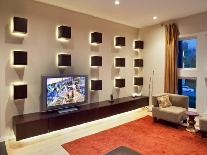 led deko wohnzimmer. Black Bedroom Furniture Sets. Home Design Ideas