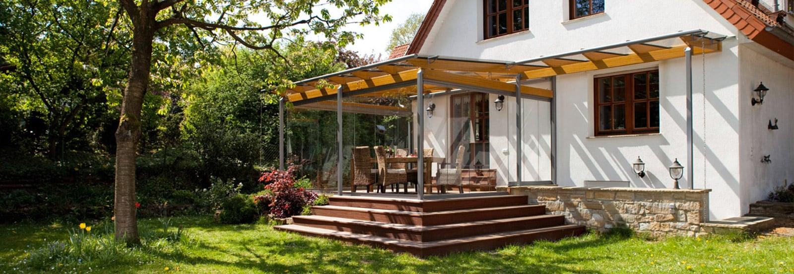 glasdach terrasse welche vorteile gibt es. Black Bedroom Furniture Sets. Home Design Ideas