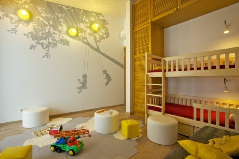 originelle Kinderzimmergestaltung