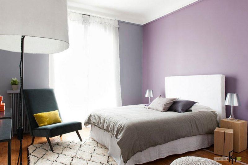 Schlafzimmer im Fend Shui Stil