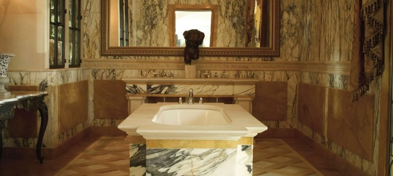 Italienische Fliesen Marmor Gold