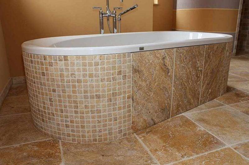 Italienische Fliesen Marmor Mosaik
