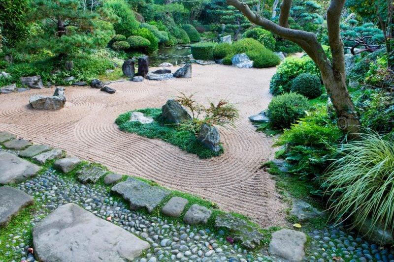 Pflanzenarten Zengarten