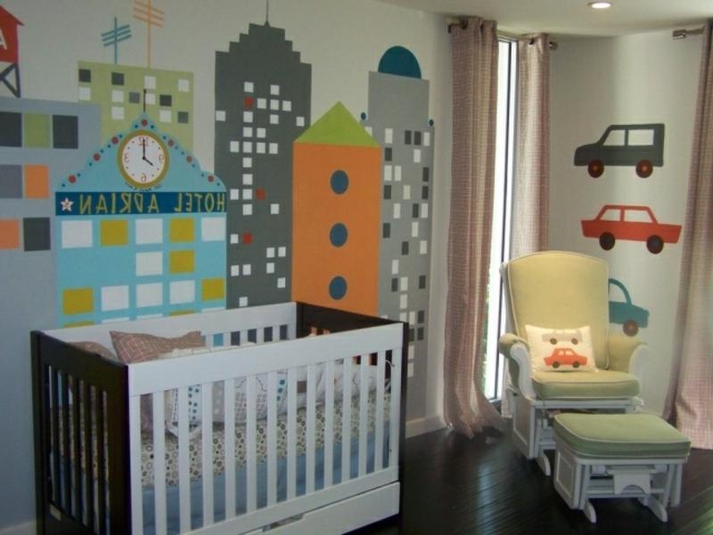 kreatives Kinderzimmerdesign