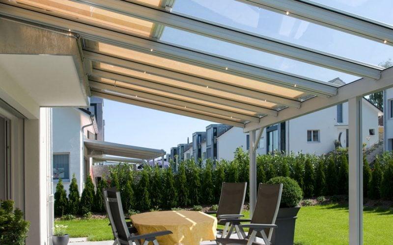 Glasdach Terrasse glasdach terrasse welche vorteile gibt es