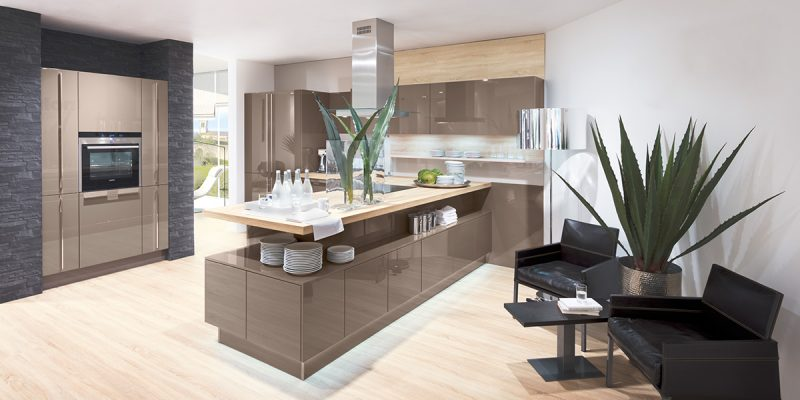 Küchenmarken Nolte Holz