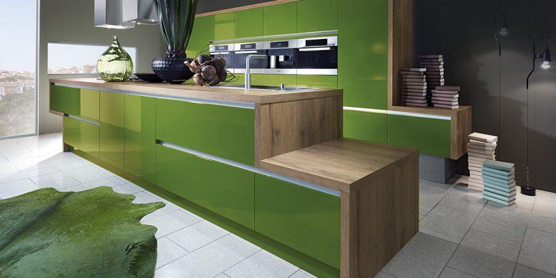 Küchenmarken Design grun