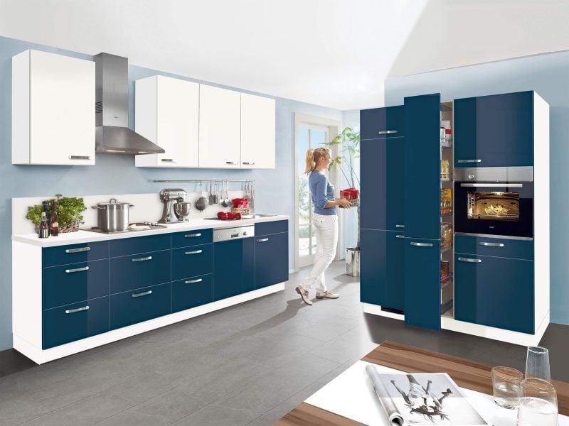 Küchenmarken Nolte blau