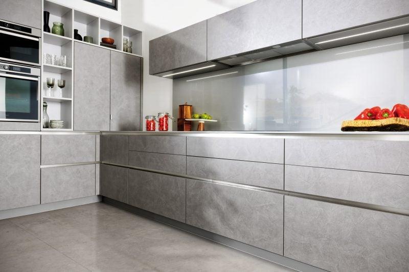 Küchenmarken Silber Design
