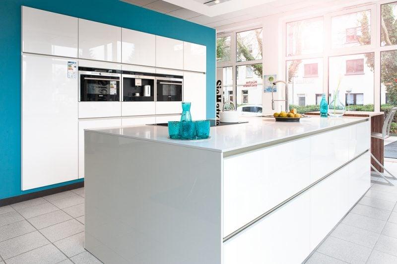 Küchenmarken Siematic weiss blau