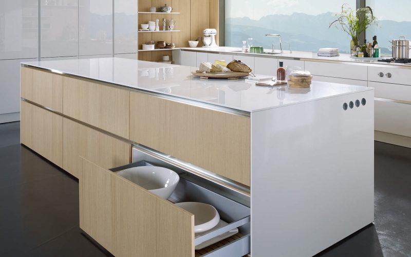 Küchenmarken Weiß Holz