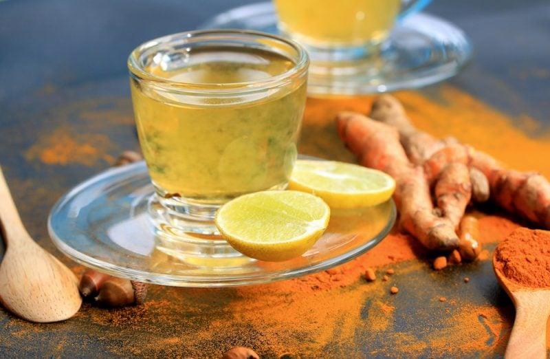 Kurkuma Tee Zitrone
