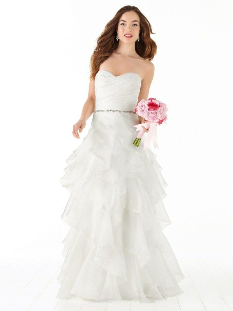 interessantes Hochzeitskleid