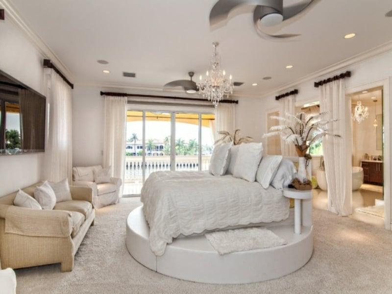 ideen in weiß im luxus schlafzimmer