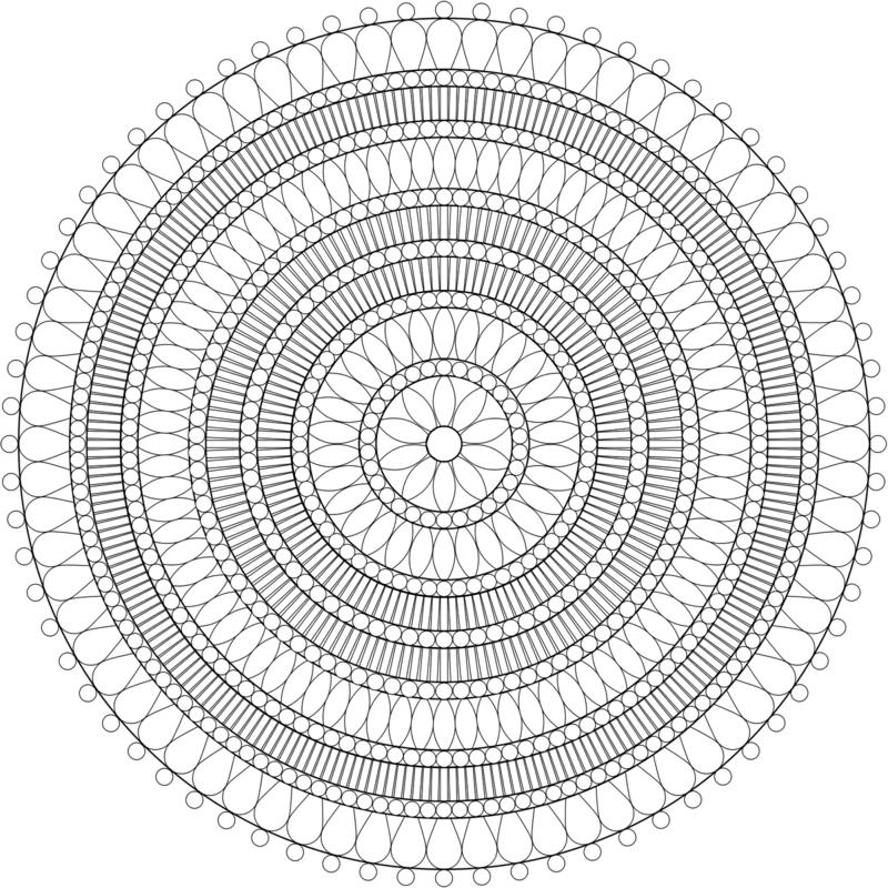 mandala vorlagen Symbolik