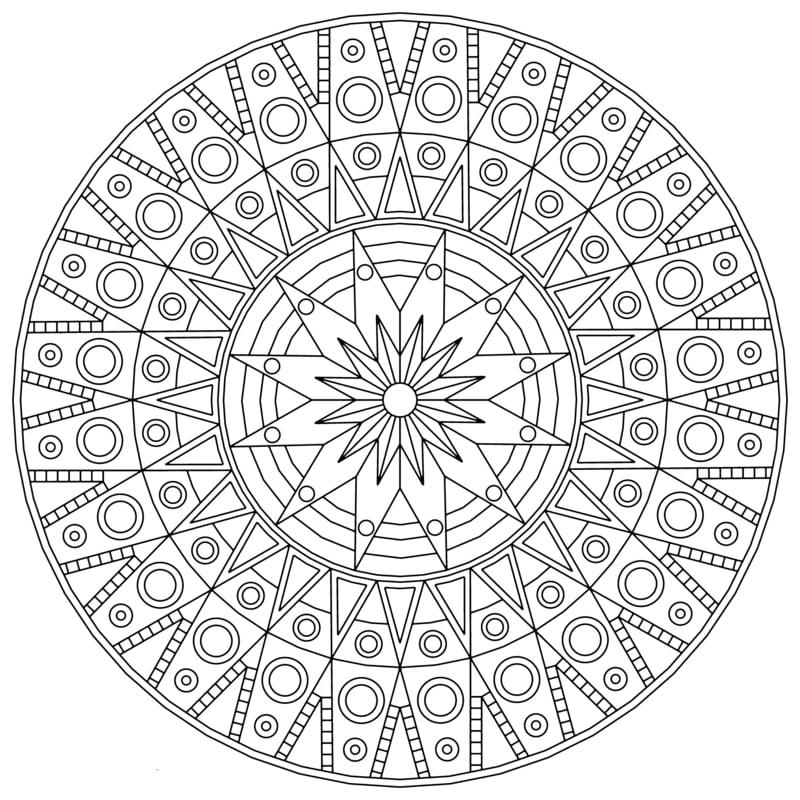 mandala vorlagen Als Spiegel des Zustandes der eigenen Psyche