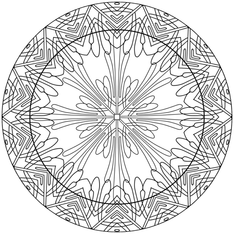 mandala vorlagen intuitiv