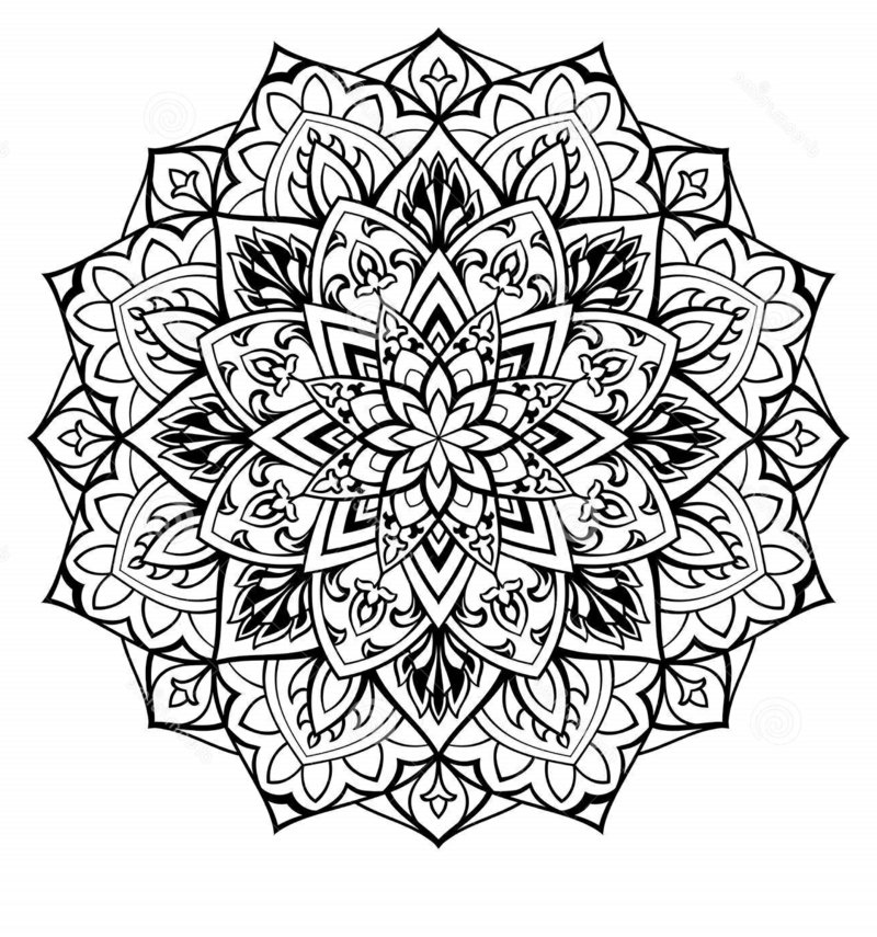 Mandala Online Malen