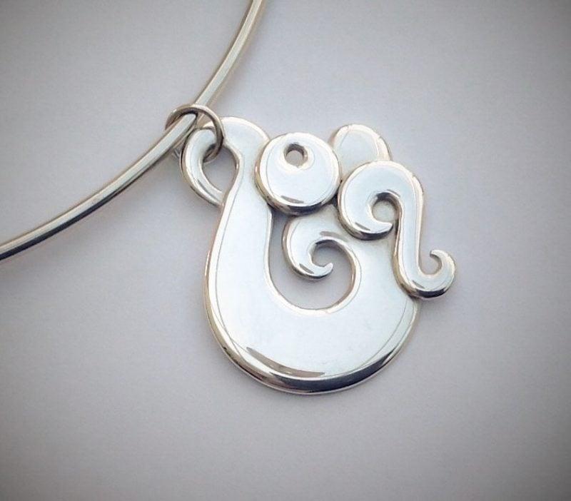 Maori Symbole Silber