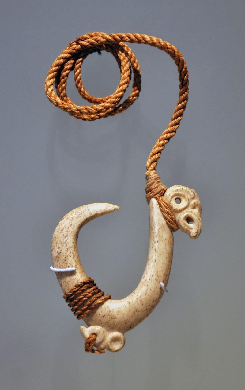 Maori Symbole Holz