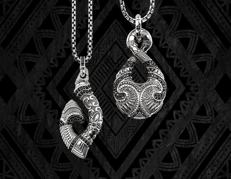 Maori Symbole Silber Schmuck