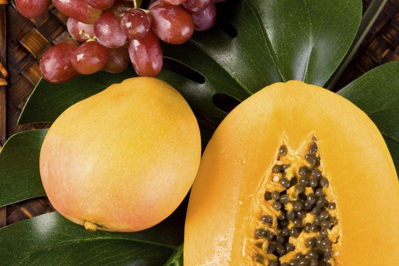 maske gegen pickel papaya