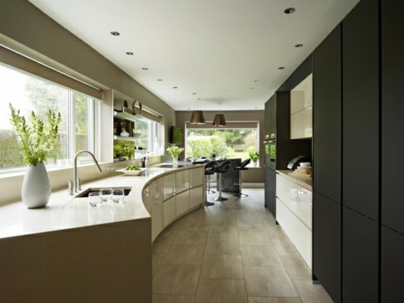Moderne kücheninsel