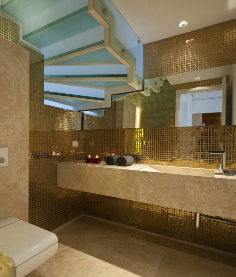 moderne Badezimmergestaltung
