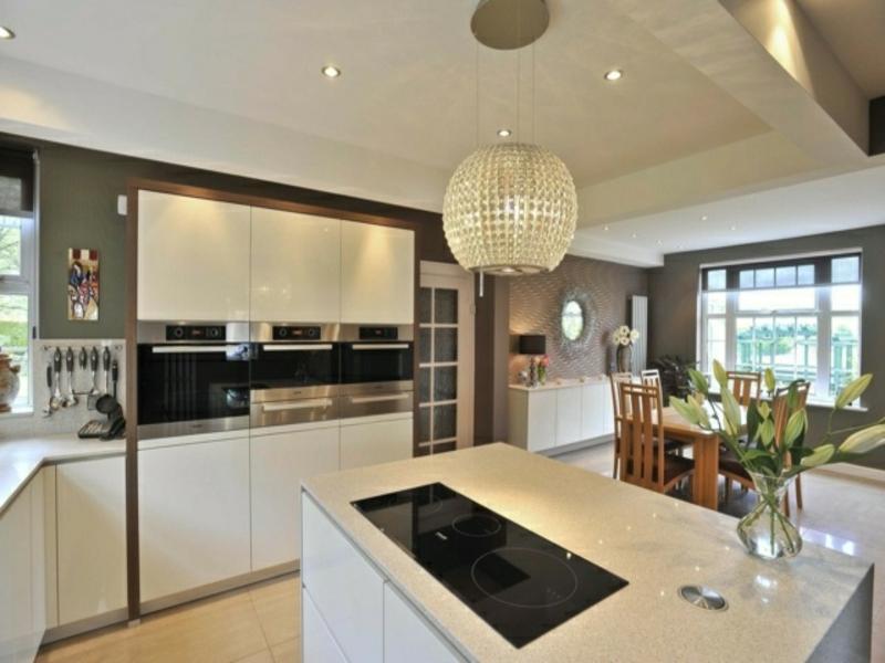 moderne kücheninsel aus granit