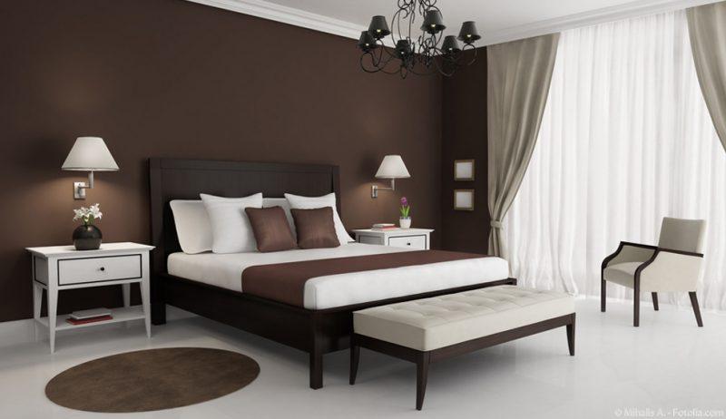 kreative Schlafzimmergestaltung nach Feng Shui