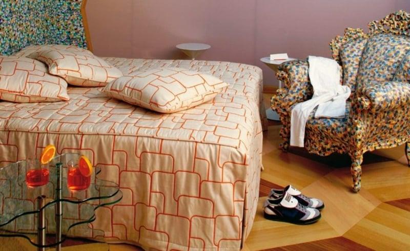 Schlafzimmer Sessel im Barock Stil