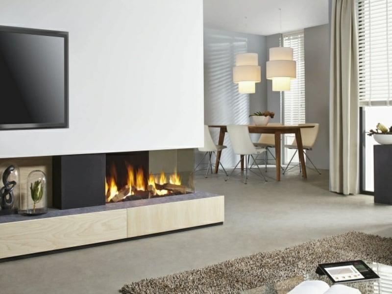 50 tipps f r stilvolle und moderne kamine innendesign zenideen. Black Bedroom Furniture Sets. Home Design Ideas