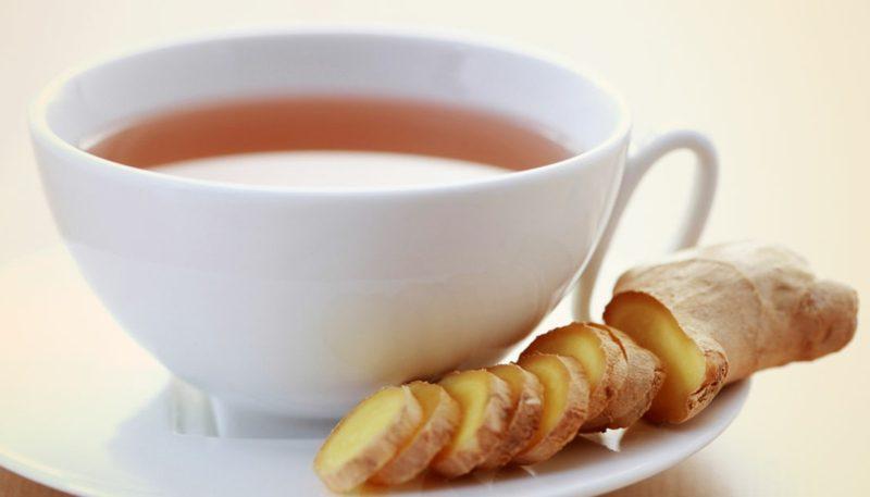 natürliche antibiotika ingwer tea