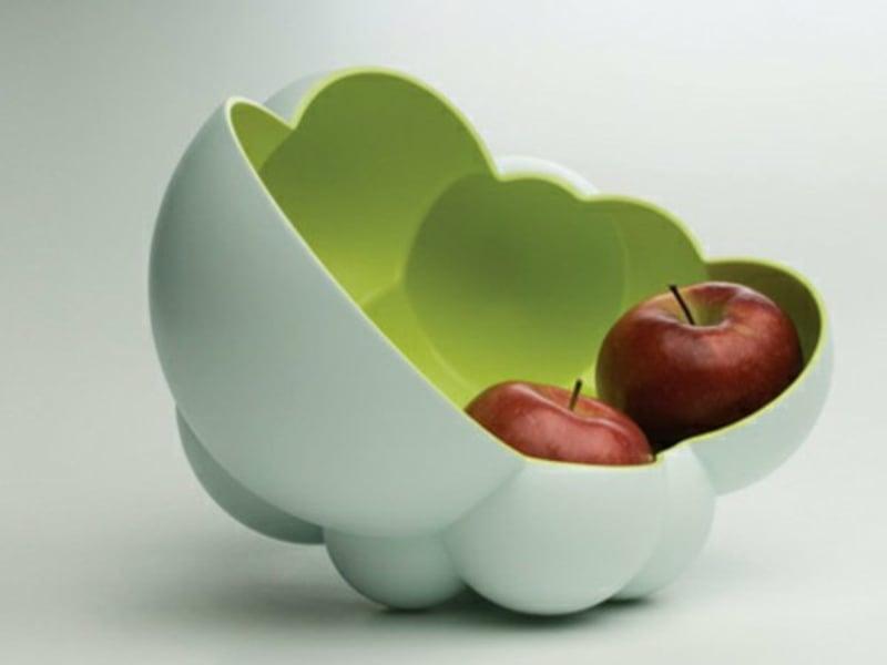 extravagante obstschale für äpfel