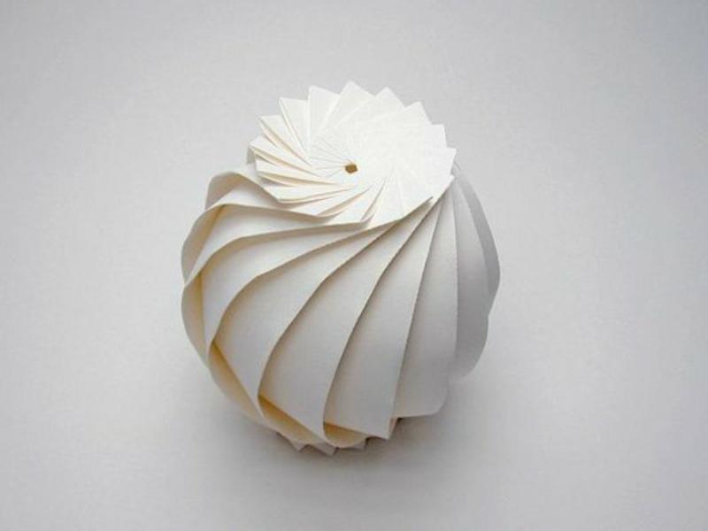 szmetrische origami vase