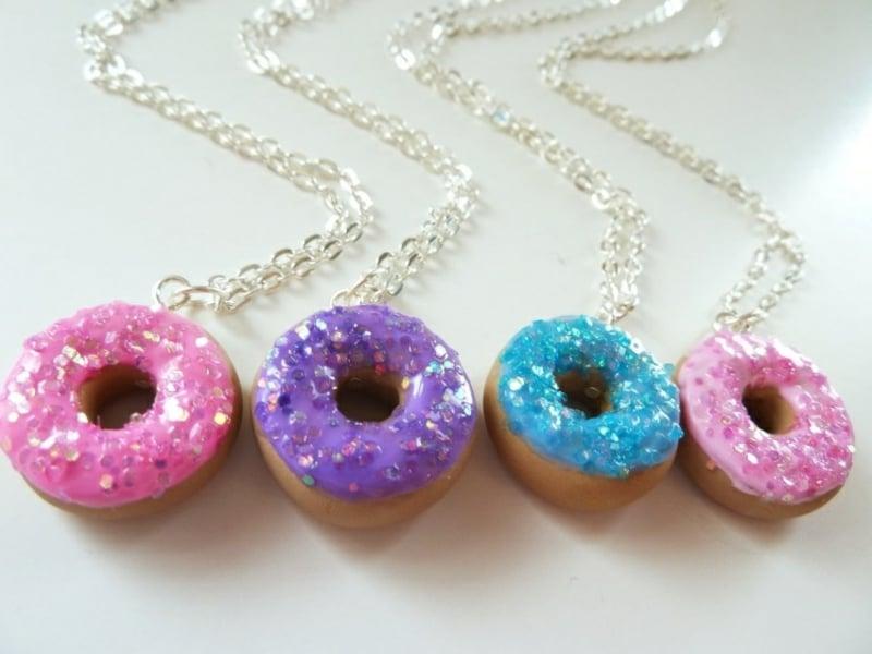 Fimo Ketten Donuts