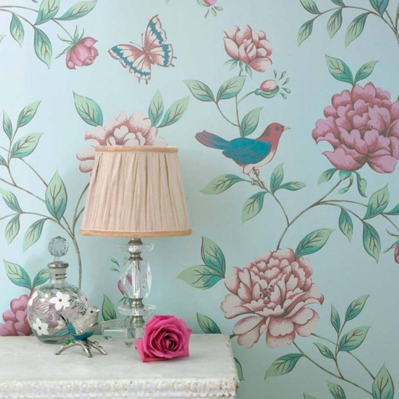 florale Motive ausgefallene Tapeten