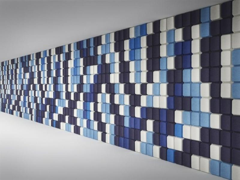 kreative Wandgestaltung Akustikplatten