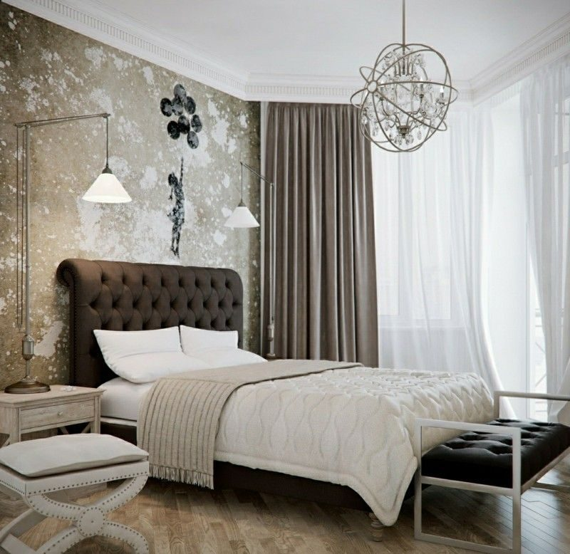 Feng Shui Schlafzimmer mit originellem Design