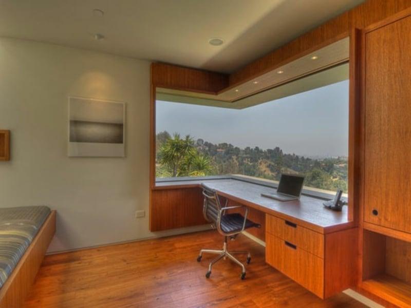 panorama und büro zu hause