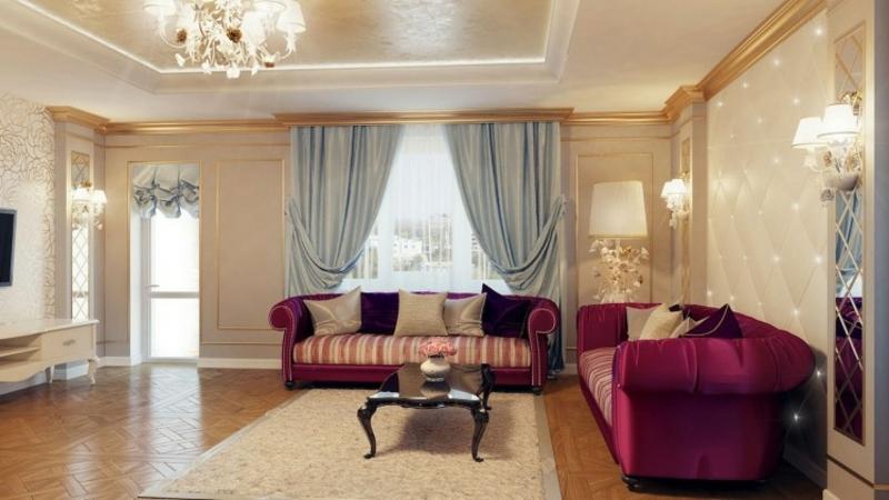 Barock Möbel prachtvolles Wohnzimmer