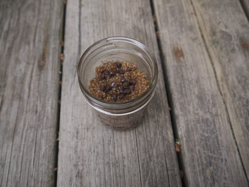 Quinoa Fruhstuck Moka Latte