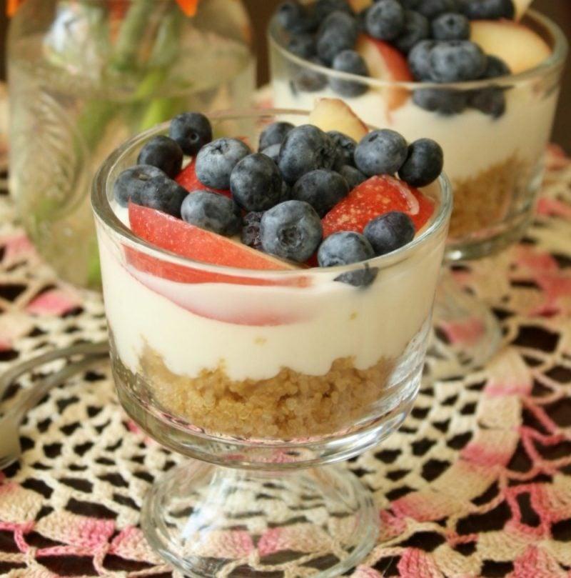 Quinoa Fruhstuck Pudding