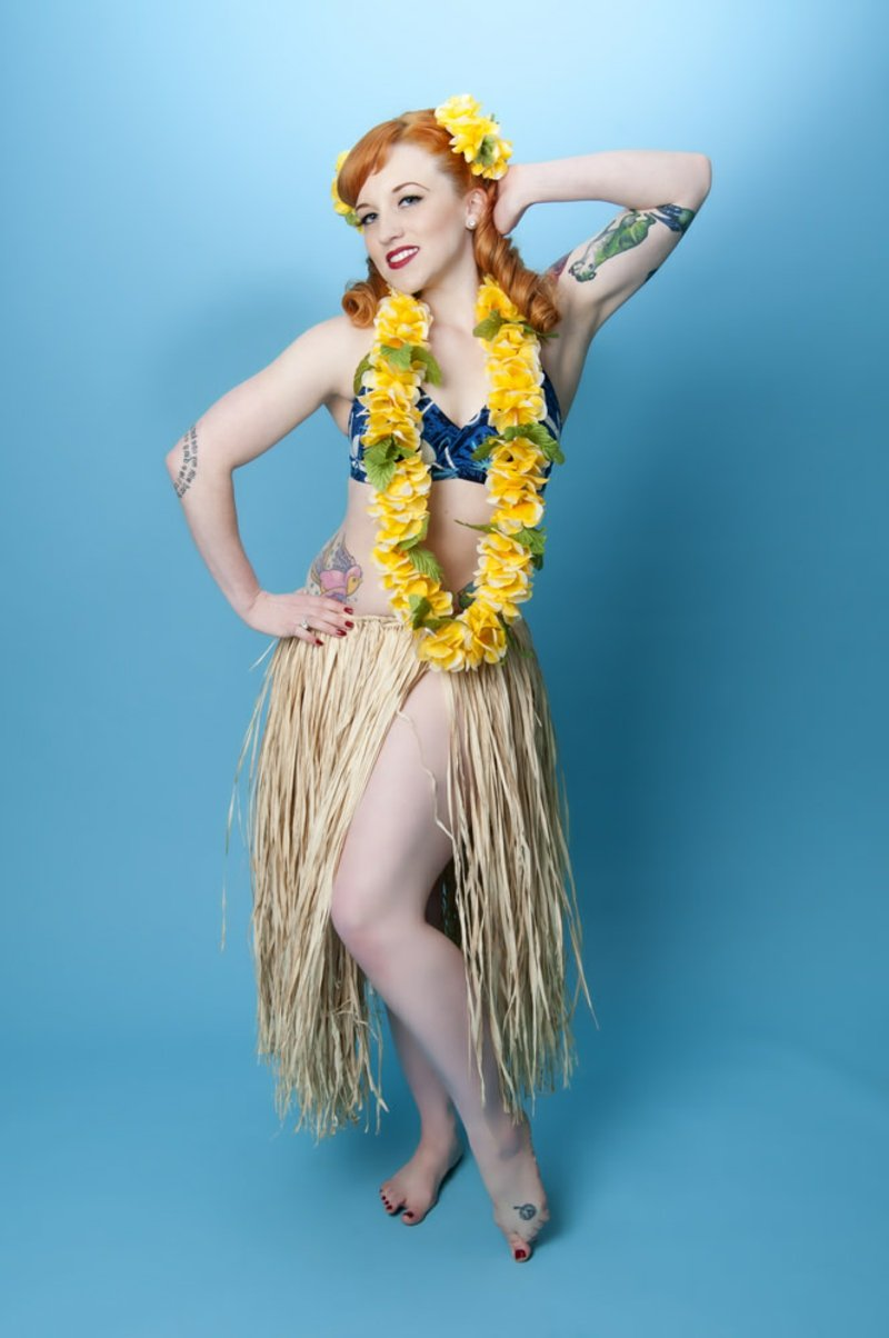 rockabilly frisuren BLUE HAWAII