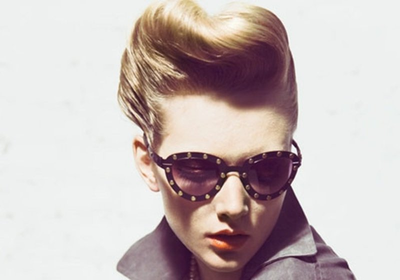 rockabilly-frisuren-Retro Cool