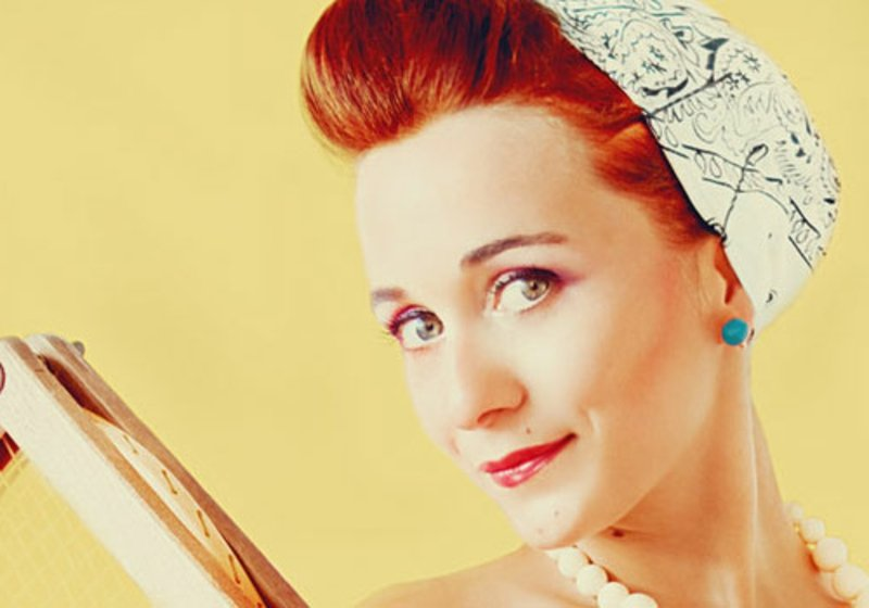 rockabilly-frisuren-Vintage Afternoon